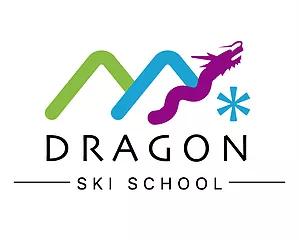 snowdragon ski school logo