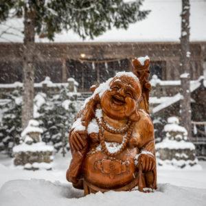 Hakuba's Snow Buddha