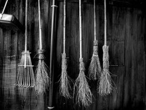 Bamboo Brooms