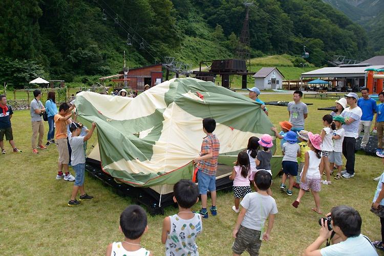 Hakuba 47 in Summer - Camping