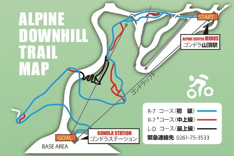 Hakuba 47 in Summer - Downhill MTB Course