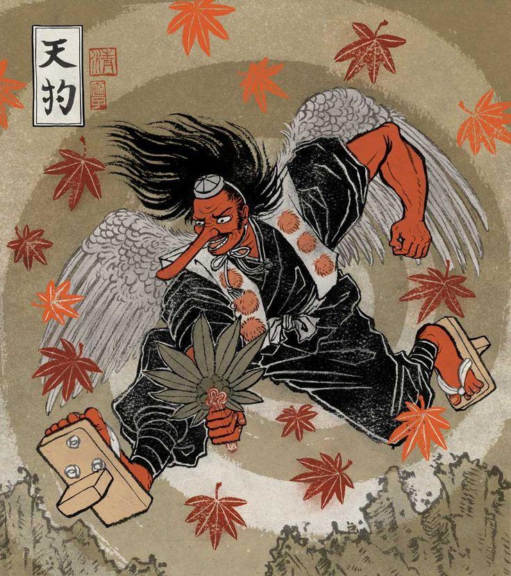 Traditional Tengu