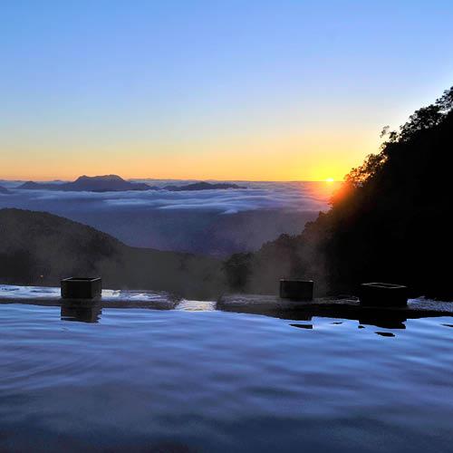 Yari Onsen - View of Mountains