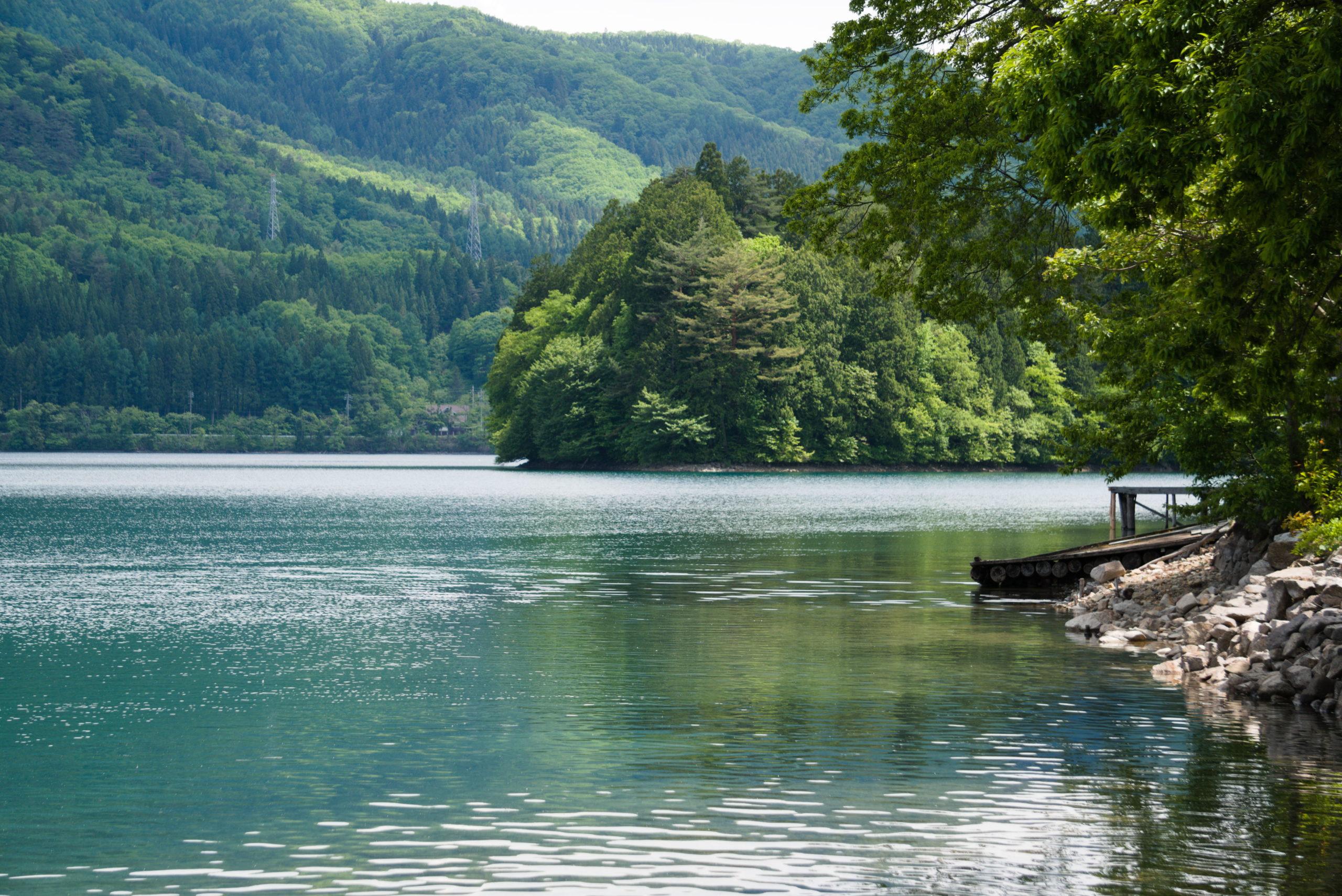 Summing in Hakuba - Lake Aokiko