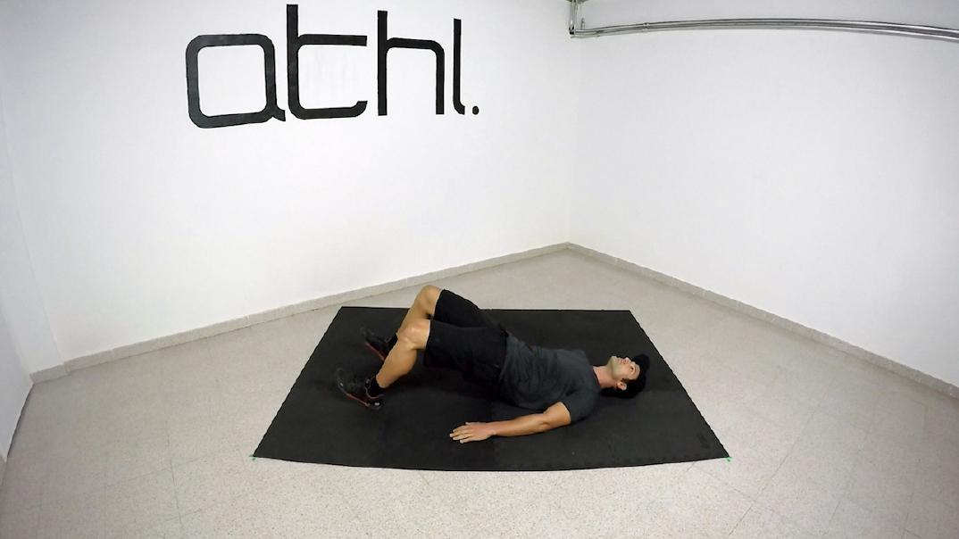 Ski Workout - Hip Bridge 2 - ATHL Exercises