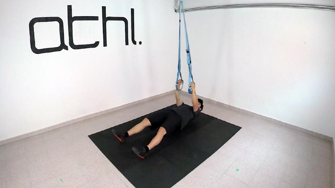 Ski Workout - Inverted Row 1 - ATHL Exercises