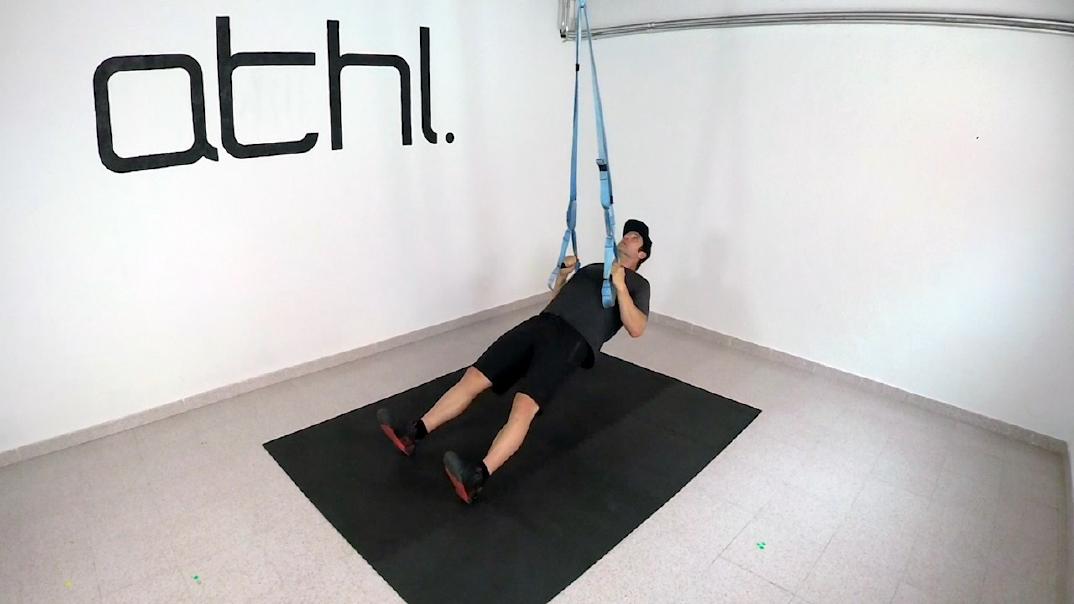 Ski Workout - Inverted Row 2 - ATHL Exercises