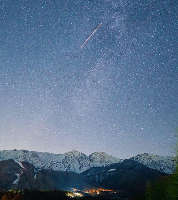 Hakuba Stargazing - Night Sky Photo