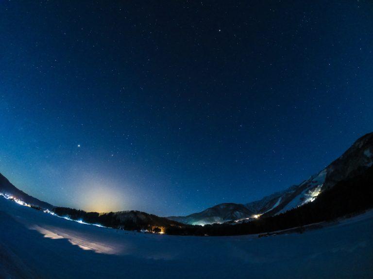 Hakuba Stargazing - Night Sky Winter